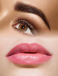 Eyebrow & Lips Embroidery